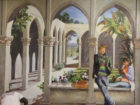 fresque salle saint Augustin